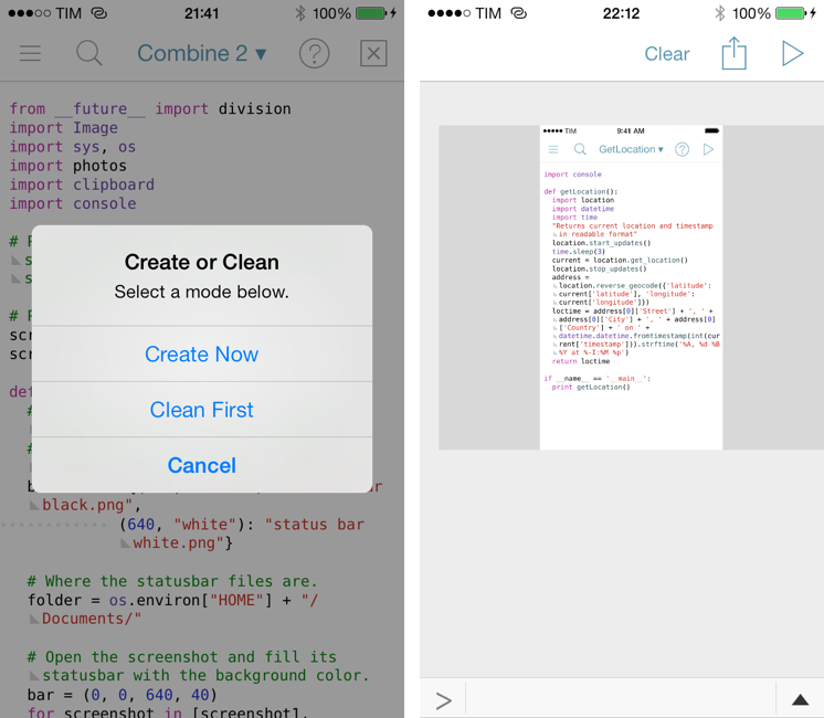 Automate iOS Contacts, Location Services, and Open In Menu with