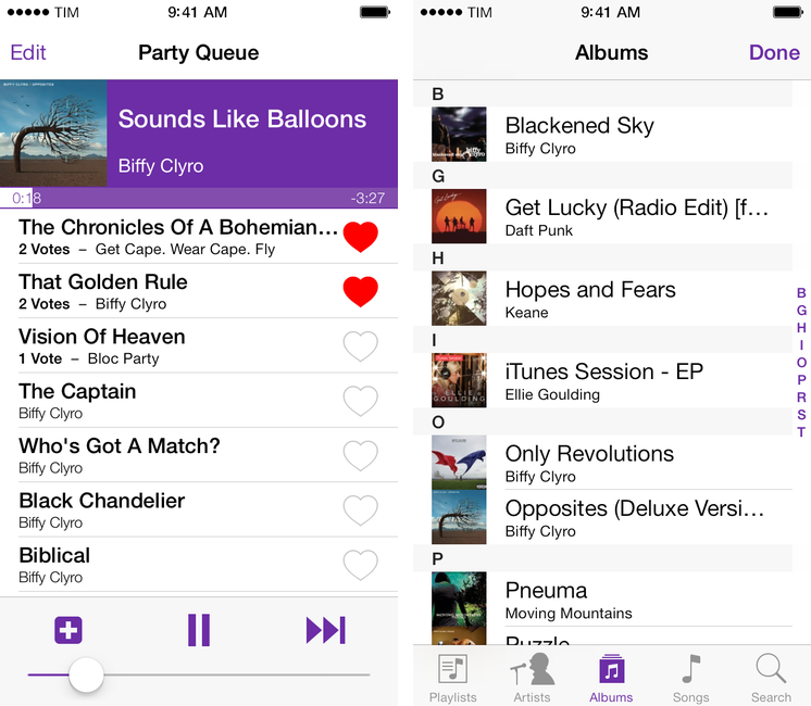 Party DJ Brings iTunes DJ Feature Back to iOS 7 With App for